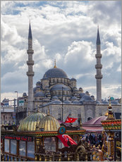 Gallery print  A mosque in Istanbul