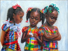 Gallery print  three girls - Jonathan Guy-Gladding