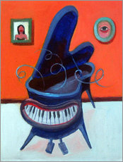 Gallery print  The Piano Pet - Diego Manuel Rodriguez