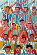 Gallery print  The fans 2 - Diego Manuel Rodriguez