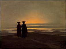Premium poster  Evening landscape - Caspar David Friedrich