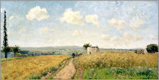Wall sticker  June Morning near Pontoise - Camille Pissarro