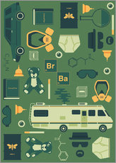 Wall sticker  Breaking Bad - Tracie Andrews