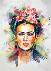 Gallery print  Frida Flower Pop - Tracie Andrews
