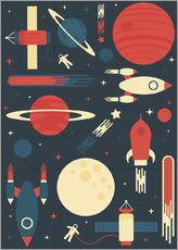 Gallery print  Space Odyssey - Tracie Andrews