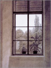 Wall sticker  Window w.view o.park - Caspar David Friedrich