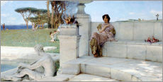 Gallery print  The Voice of Spring. - Lawrence Alma-Tadema