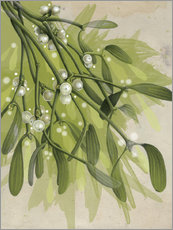 Gallery print  Christmas Mistletoe - Ashley Verkamp