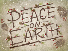 Wall sticker  Peace On Earth - Ashley Verkamp