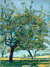 Wall sticker  Paddock with apple trees - Ferdinand Hodler