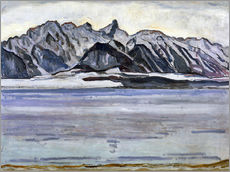Wall sticker  Stockhorn Range in Winter - Ferdinand Hodler