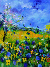 Wall sticker  Colorful meadow - Pol Ledent