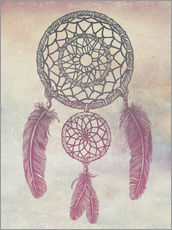 Wall sticker  Dream Catcher Rose - Rachel Caldwell
