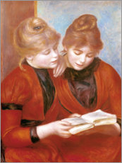 Wall sticker  The two sisters - Pierre-Auguste Renoir