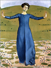 Gallery print  Song from a Distance - Ferdinand Hodler