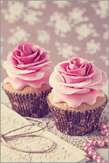 Wall sticker Two cupcakes