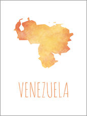 Wall sticker  Venezuela - Stephanie Wittenburg