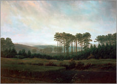 Gallery Print  Afternoon - Caspar David Friedrich