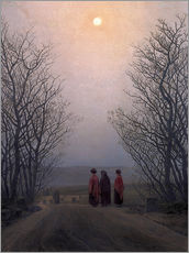 Wall sticker  Easter morning - Caspar David Friedrich