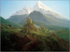 Gallery print  The Watzmann - Caspar David Friedrich