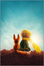 Wall sticker  The Little Prince - Elena Schweitzer
