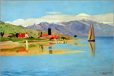 Gallery print  The port of Pully - Felix Edouard Vallotton