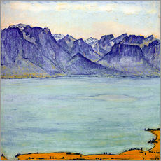 Wall sticker  Lake Geneva near Chamby - Ferdinand Hodler