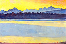 Wall sticker  Lake Geneva w. Mount Blanc - Ferdinand Hodler