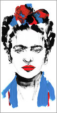 Wall sticker Just Frida