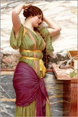 Wall sticker  A fair reflection - John William Godward