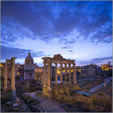 Gallery Print  Forum Romanum in Rome, Italy - Jan Christopher Becke
