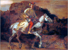 Wall sticker  The Polish Rider - Rembrandt van Rijn
