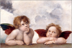 Canvas print  Little angels - Raffael