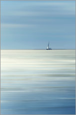 Gallery print  Sailboat on the sea - Filtergrafia