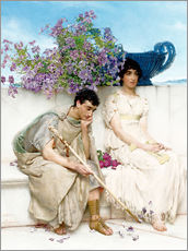 Gallery print  An Eloquent Silence - Lawrence Alma-Tadema