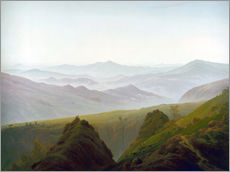 Wall Stickers  Morning in the Mountains - Caspar David Friedrich