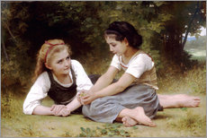 Gallery print  The Nut Gatherers - William Adolphe Bouguereau