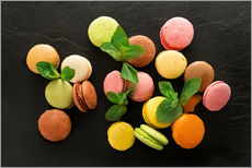 Wall sticker  Colorful macarons