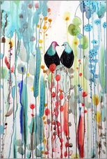 Gallery print  The beautiful vertical story - Sylvie Demers