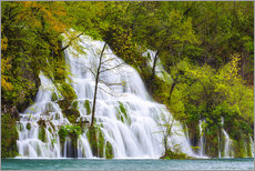 Gallery print  Spring at the waterfalls of Plitvice - Moqui, Daniela Beyer