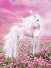 Wall sticker  Pink Unicorn - Dolphins DreamDesign