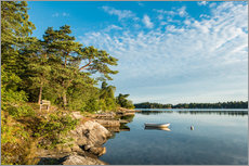 Wall sticker  Archipelago on the Baltic Sea coast in Sweden - Rico Ködder