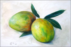 Wall sticker  Two mangos - Jonathan Guy-Gladding