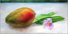 Gallery print  Mango and orchid - Jonathan Guy-Gladding