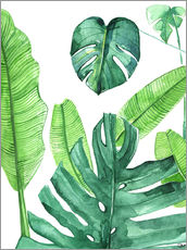 Wall sticker  Tropical leaves - Rongrong DeVoe