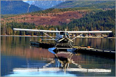 Wall sticker  Seaplane in Purpoise Bay, Canada - HADYPHOTO