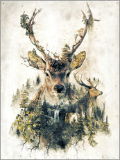 Barrett Biggers - Deer Nature Surrealism