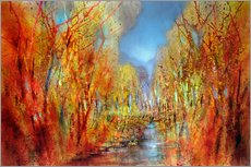 Wall sticker  The forests colorful - Annette Schmucker
