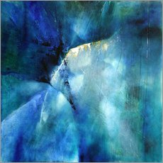 Gallery print  Composition in blue - Annette Schmucker