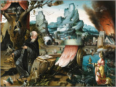 Wall sticker  The temptations of St. Anthony - Hieronymus Bosch